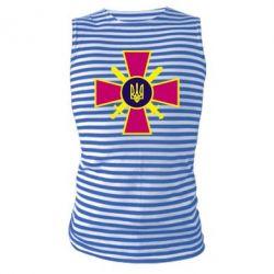 Майка-тельняшка Військо України - FatLine
