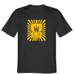 Мужская футболка Військо українське - FatLine