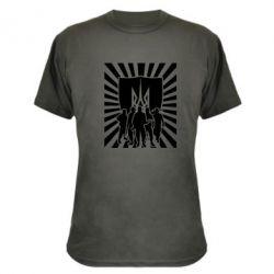 Камуфляжная футболка Військо українське - FatLine