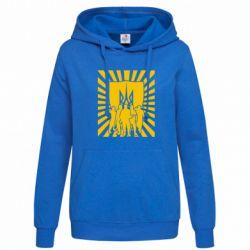 Женская толстовка Військо українське - FatLine