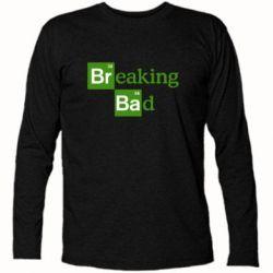 Футболка с длинным рукавом Во все тяжкие (Breaking Bad) - FatLine