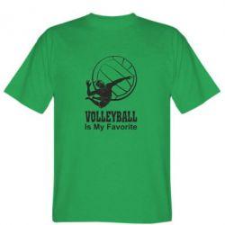 Футболка Волейбол Is my favorite