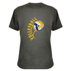 Камуфляжная футболка Волейбол