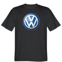 Мужская футболка Volkswagen 3D Logo - FatLine