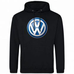 Мужская толстовка Volkswagen 3D Logo - FatLine