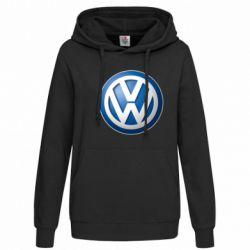 Женская толстовка Volkswagen 3D Logo - FatLine