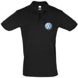 Футболка Поло Volkswagen 3D Logo - FatLine