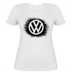 Женская футболка Volkswagen art