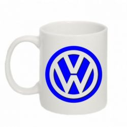 Кружка 320ml Volkswagen Logo - FatLine