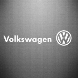 Наклейка Volkswagen Motors - FatLine