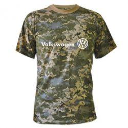 Камуфляжная футболка Volkswagen Motors - FatLine