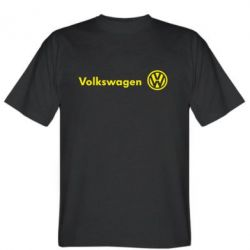 Мужская футболка Volkswagen лого - FatLine