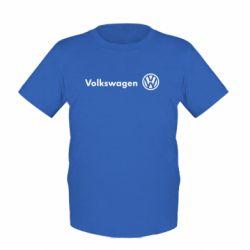 Детская футболка Volkswagen Motors - FatLine