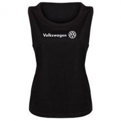Женская майка Volkswagen Motors - FatLine