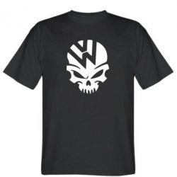 Мужская футболка Volkswagen Skull - FatLine