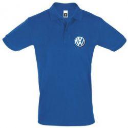 Футболка Поло Volkswagen Small Logo - FatLine