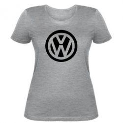 Жіноча футболка Volkswagen - FatLine