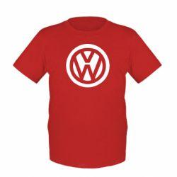 Детская футболка Volkswagen - FatLine