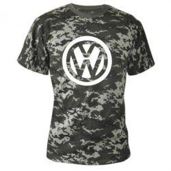 Камуфляжная футболка Volkswagen - FatLine