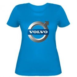 Женская футболка VOLVO 3D - FatLine