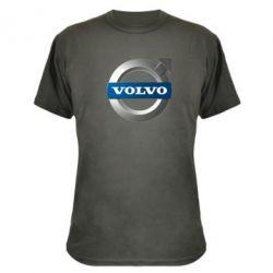 Камуфляжная футболка VOLVO 3D - FatLine