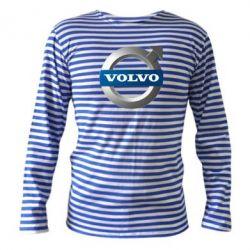 Тельняшка с длинным рукавом VOLVO 3D - FatLine