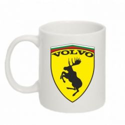 Кружка 320ml Volvo Logo - FatLine