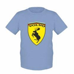 Детская футболка Volvo Logo - FatLine
