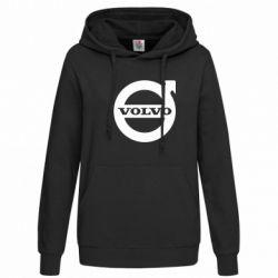 Женская толстовка Volvo - FatLine