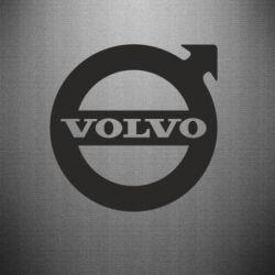 Наклейка Volvo - FatLine