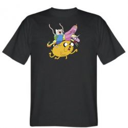 Мужская футболка Время Приключений - FatLine