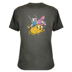 Камуфляжная футболка Время Приключений - FatLine