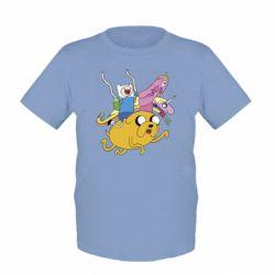 Детская футболка Время Приключений - FatLine