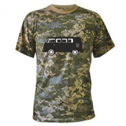 Камуфляжная футболка VV - FatLine