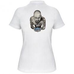 Женская футболка поло Walter White with meth - FatLine