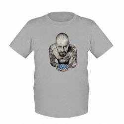 Детская футболка Walter White with meth - FatLine