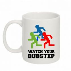 Кружка 320ml Watch Your DubStep
