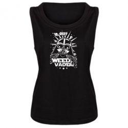 Женская майка Weed Vader - FatLine
