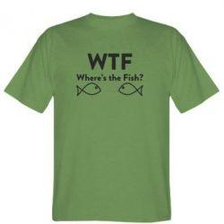Футболка Where is The Fish