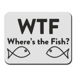 Коврик для мыши Where is The Fish