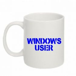 Кружка 320ml Windows User - FatLine