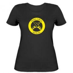 Женская футболка Wing Chun kung fu - FatLine