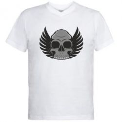 ������� ��������  � V-�������� ������� Winged Skull - FatLine