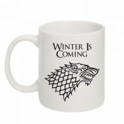 Кружка 320ml Winter is coming (Игра престолов) - FatLine