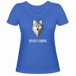 ������� �������� � V-�������� ������� Winter is coming Wolf
