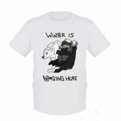 Дитяча футболка Winter is !@#%ing here