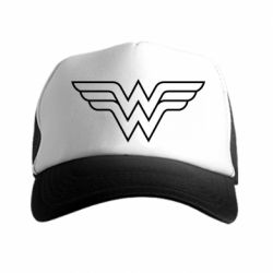 �����-������ Wonder Woman Logo - FatLine