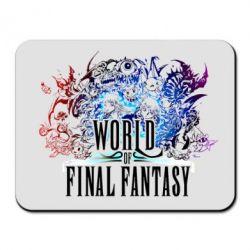 Коврик для мыши World of Final Fantasy