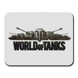 Коврик для мыши World Of Tanks 3D Logo - FatLine