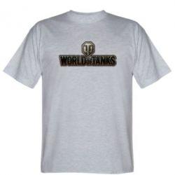 Мужская футболка World Of Tanks Logo - FatLine